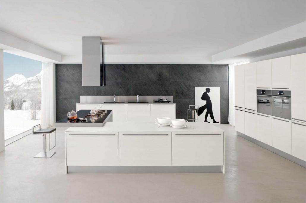 cuisines armony avec poign es. Black Bedroom Furniture Sets. Home Design Ideas