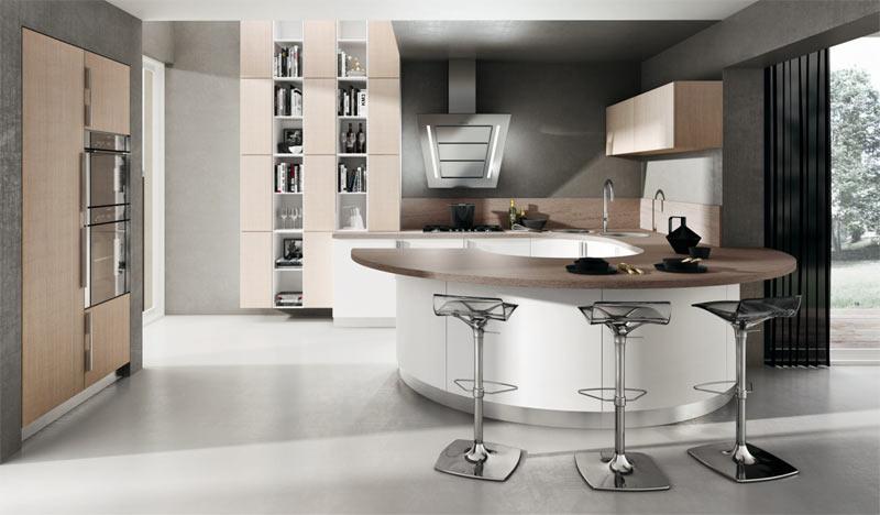 armony cuisines arrondies. Black Bedroom Furniture Sets. Home Design Ideas