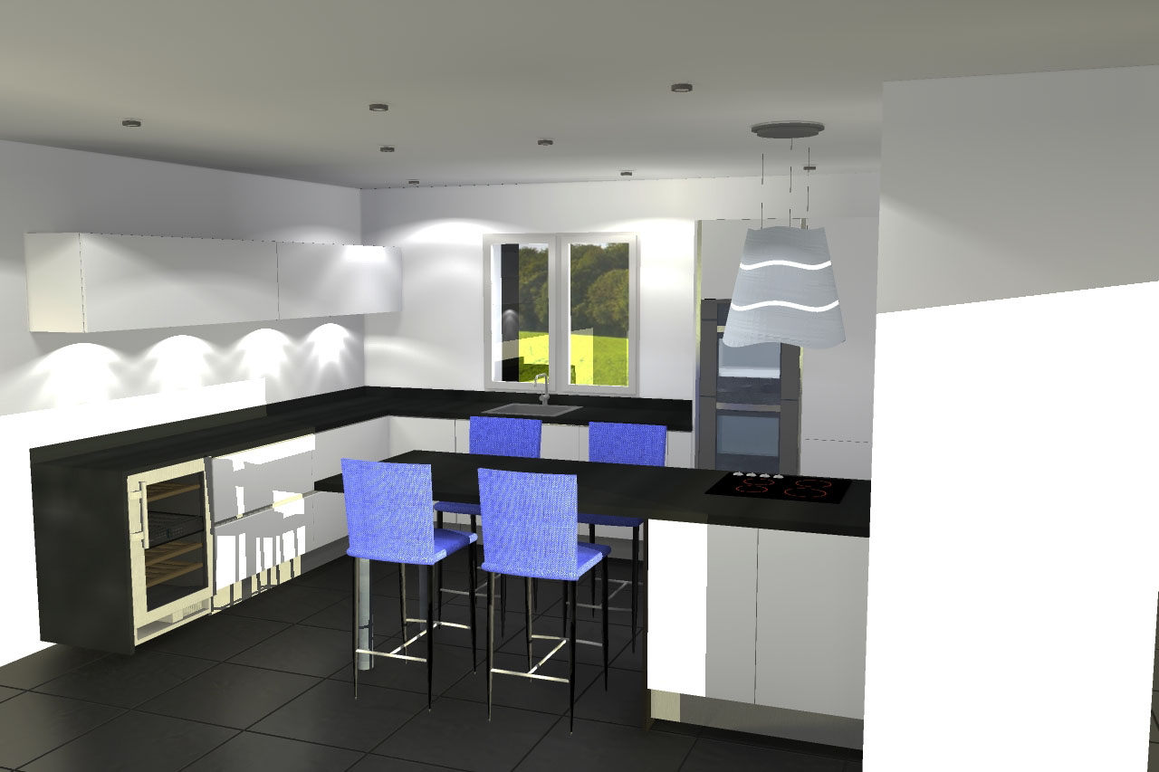 Plan 3d cuisine interesting plan d cuisine with plan 3d for Modeliser sa cuisine en 3d