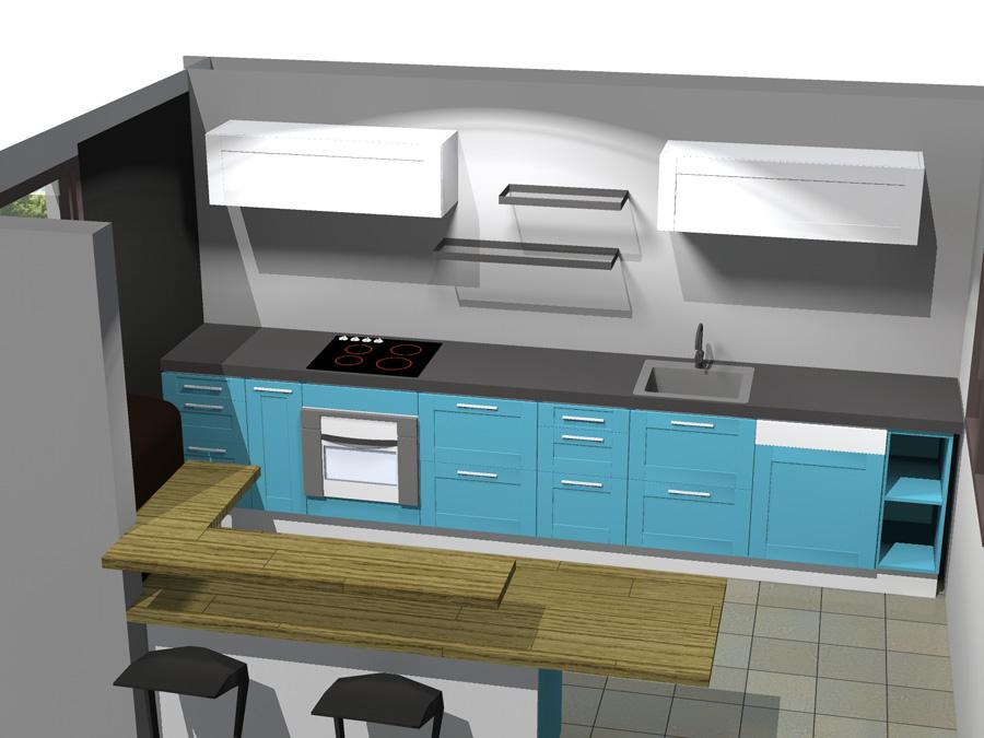 etude cuisine chom rac mon projet cuisine. Black Bedroom Furniture Sets. Home Design Ideas