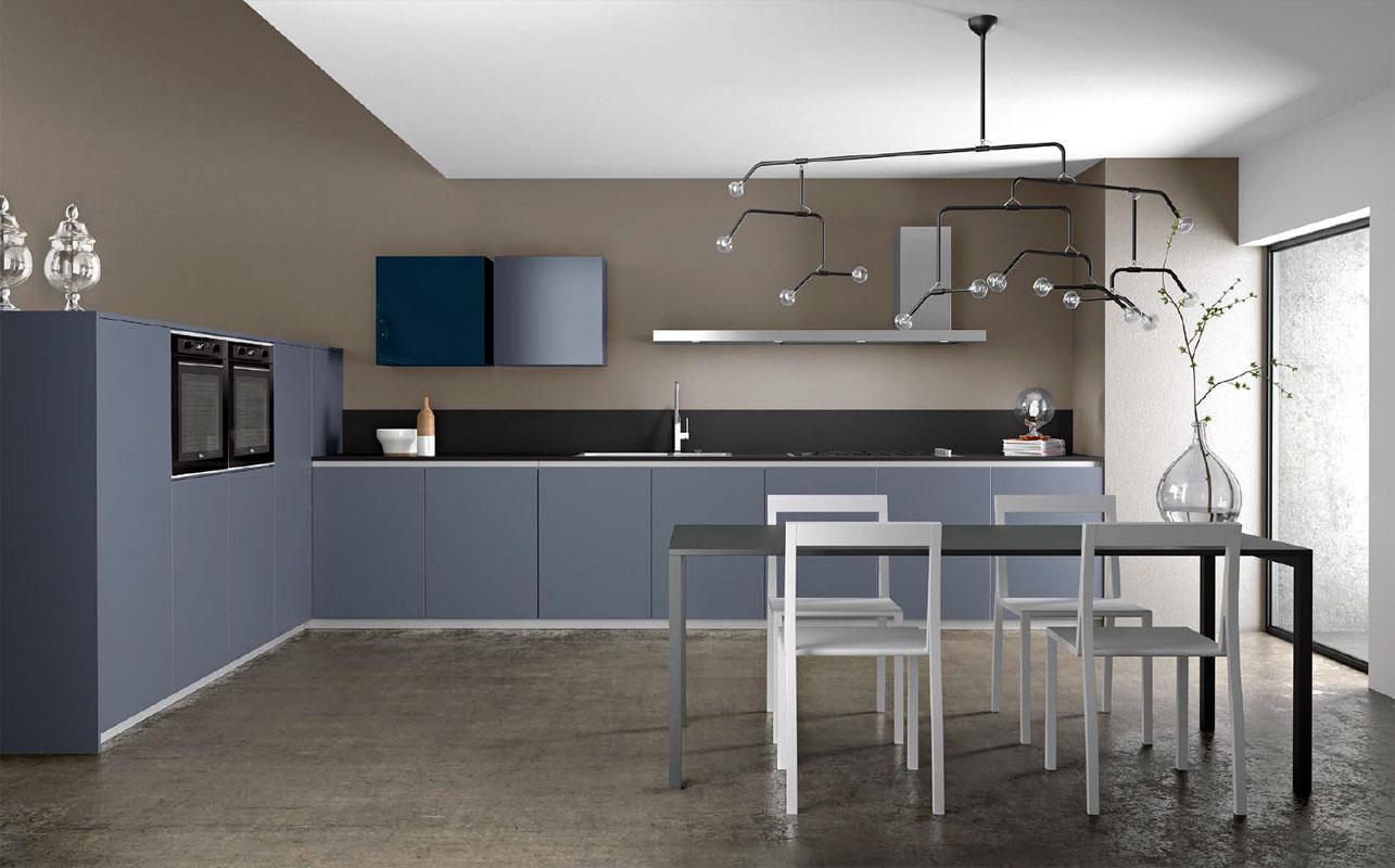 Cuisine Armony Zeta - Laqué bleu 2