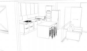 projet cuisine armony corenc village V1-1
