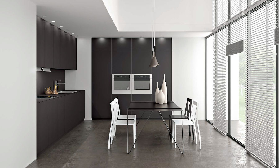 cuisine en fenix ntm. Black Bedroom Furniture Sets. Home Design Ideas