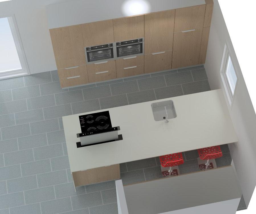 cuisine armony montpellier v5 01. Black Bedroom Furniture Sets. Home Design Ideas