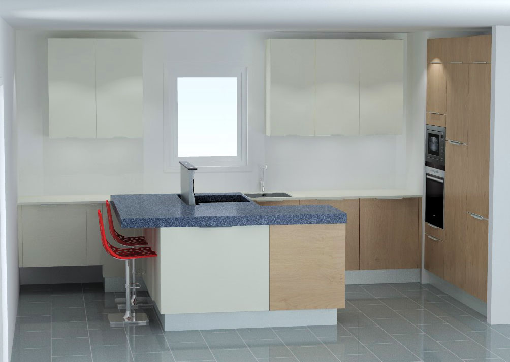cuisine armony montpellier v7 02. Black Bedroom Furniture Sets. Home Design Ideas