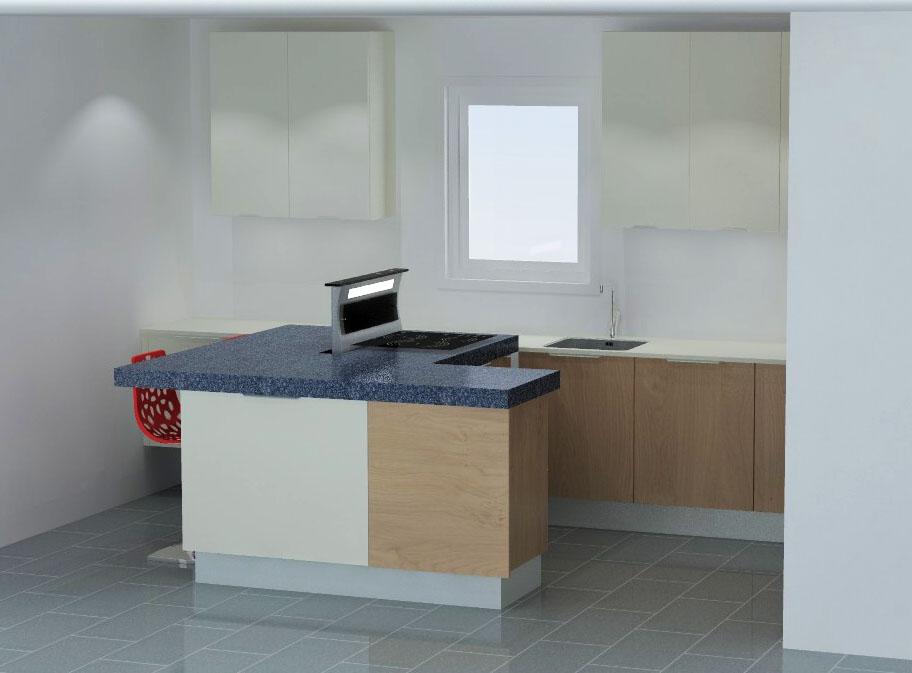 cuisine armony montpellier v7 04. Black Bedroom Furniture Sets. Home Design Ideas
