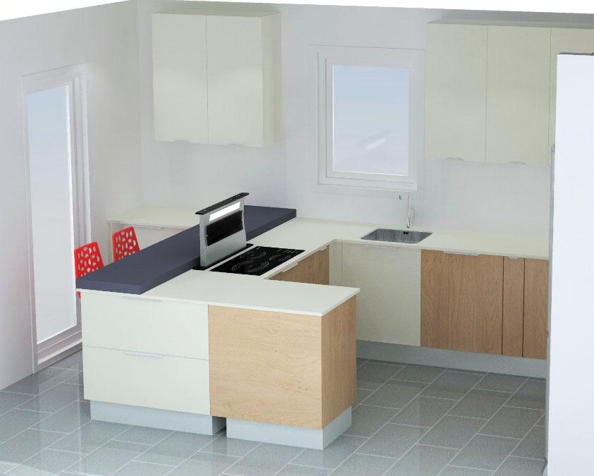 cuisine armony montpellier v8 01. Black Bedroom Furniture Sets. Home Design Ideas