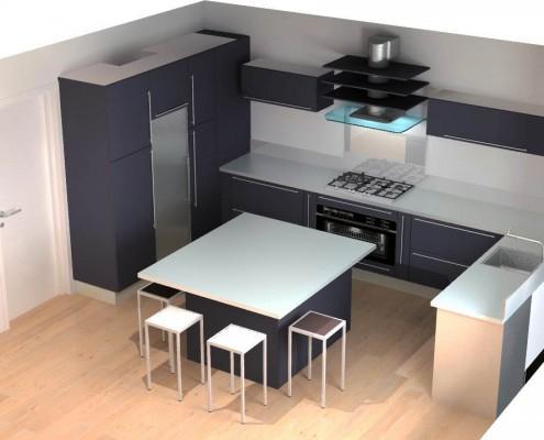 etude cuisine rennes. Black Bedroom Furniture Sets. Home Design Ideas