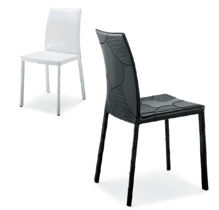 tabouret cuir airnova patchwork 04. Black Bedroom Furniture Sets. Home Design Ideas