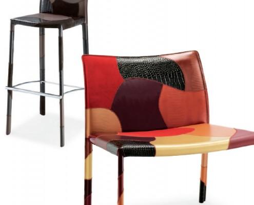 Tabouret et fauteuil XL
