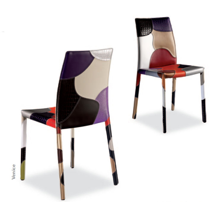 tabouret cuir airnova patchwork 09. Black Bedroom Furniture Sets. Home Design Ideas