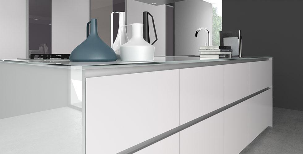 Cuisine armony t16 for Facade cuisine aluminium