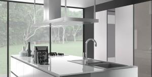 Armony T16 - Façade et plan de travail en verre