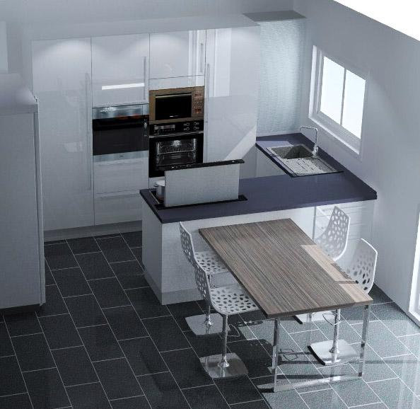 d co ilot cuisine contre un mur 27 aulnay sous bois ilot cuisine ikea diy ilot cuisine bar. Black Bedroom Furniture Sets. Home Design Ideas