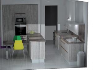 Etude cuisine Armony Valence B08-02