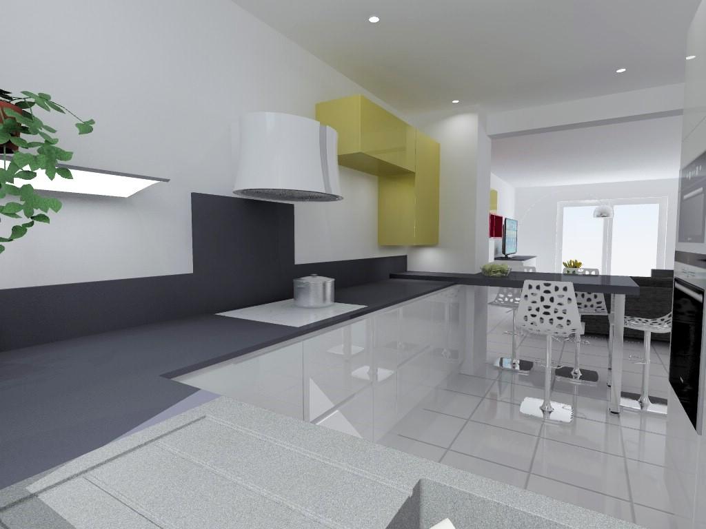cuisine armony sur le programme les villas du bas jayet. Black Bedroom Furniture Sets. Home Design Ideas