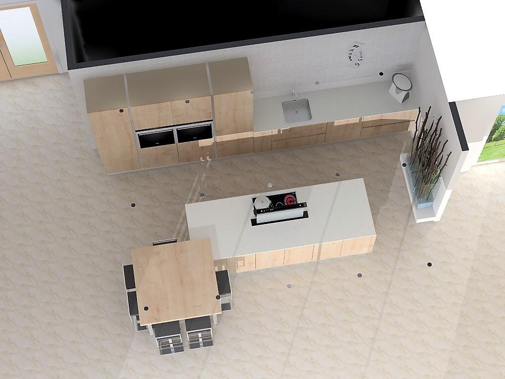 Plan de travail mural cuisine pose carrelage mural for Beton cire sur carrelage plan de travail