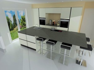 Plan en quartz Silestone couleur Amazon