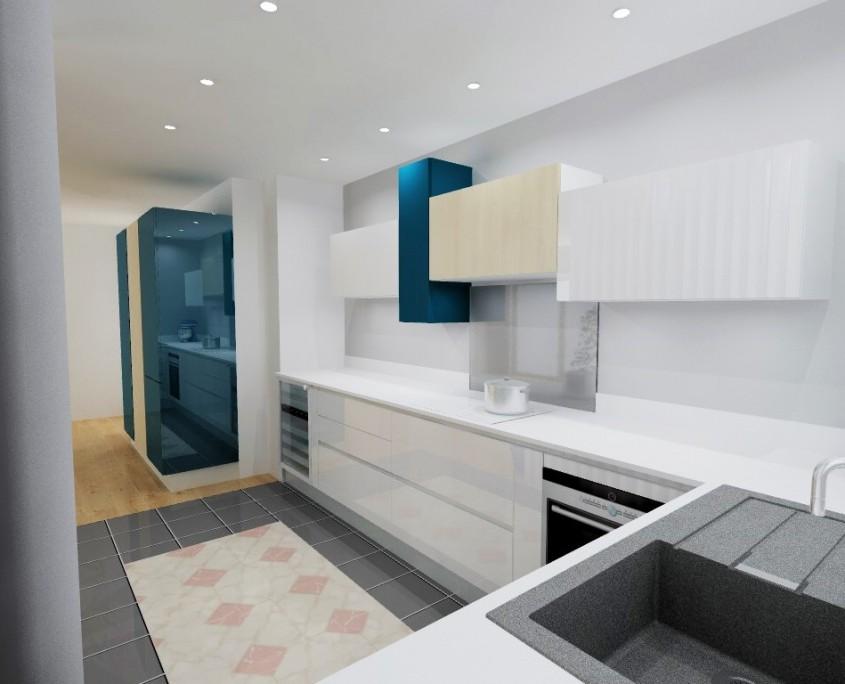 cuisiniste martigues description cuisine ouverte sur salon et with salon et cuisine evier. Black Bedroom Furniture Sets. Home Design Ideas