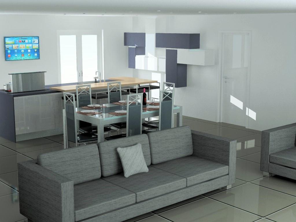 cuisine armony lyon v10 p01. Black Bedroom Furniture Sets. Home Design Ideas