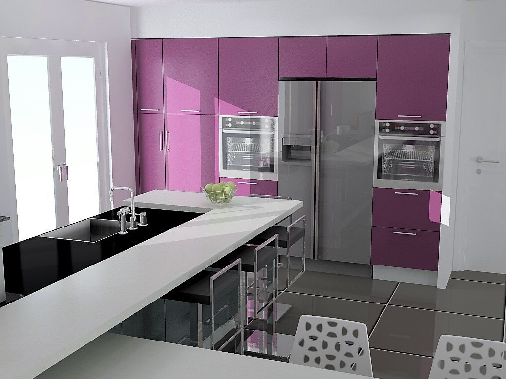 cuisine armony lyon v14 p03. Black Bedroom Furniture Sets. Home Design Ideas
