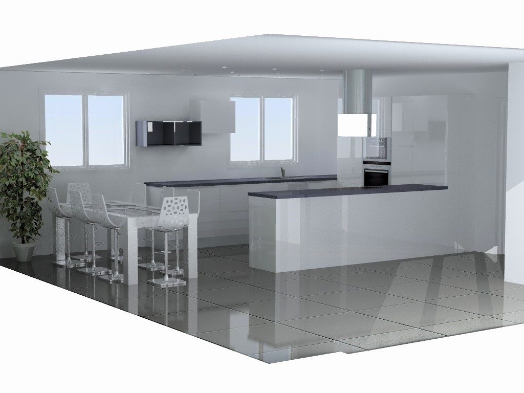 cuisine armony lyon v2 p02. Black Bedroom Furniture Sets. Home Design Ideas