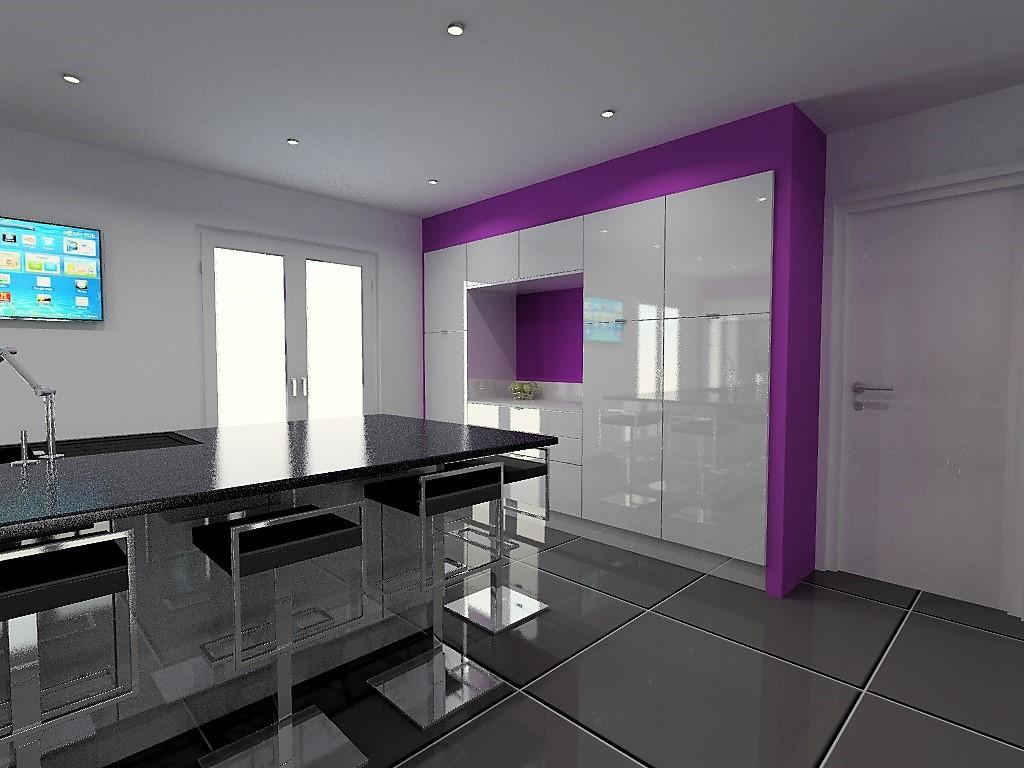 cuisine armony lyon v20 p05. Black Bedroom Furniture Sets. Home Design Ideas
