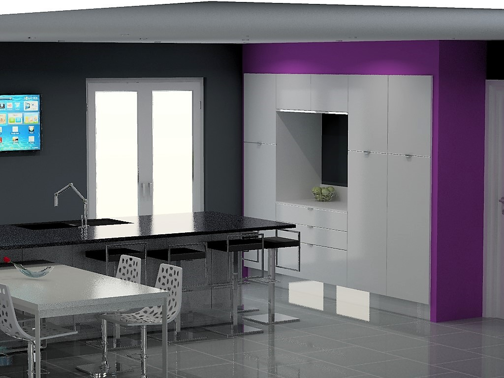 cuisine armony lyon v21 p06. Black Bedroom Furniture Sets. Home Design Ideas