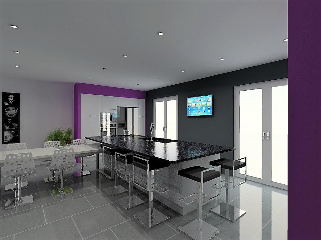 cuisine armony lyon v21 p07. Black Bedroom Furniture Sets. Home Design Ideas