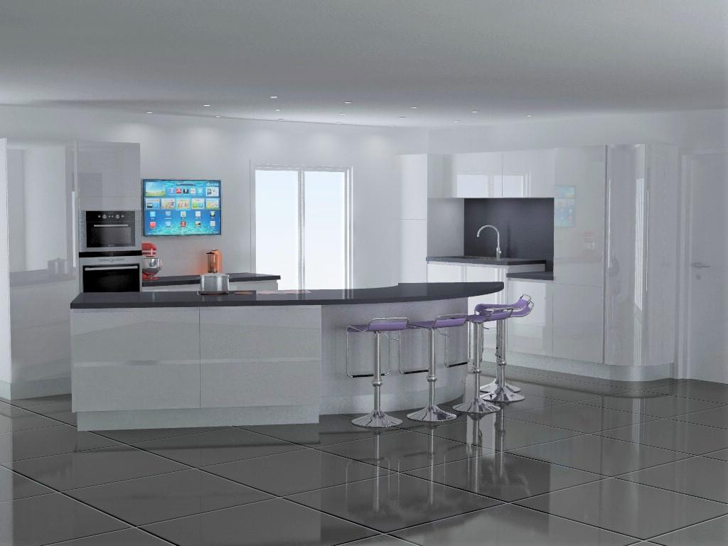 cuisine armony lyon v7 p02. Black Bedroom Furniture Sets. Home Design Ideas