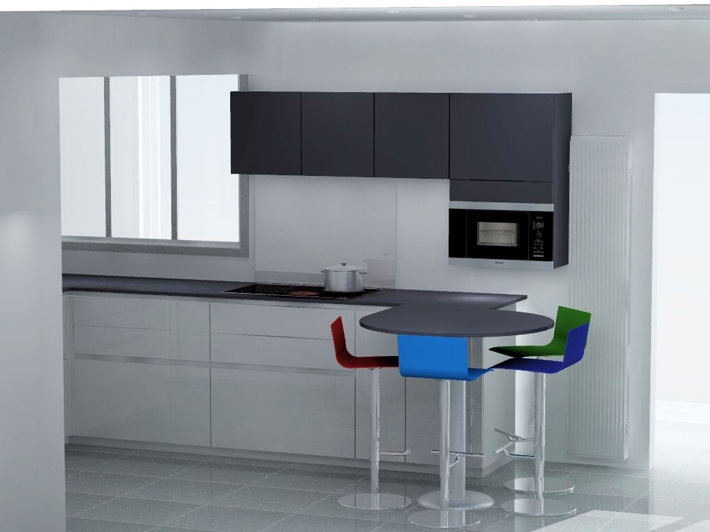 cuisine avec micro onde encastrable meuble de salon contemporain. Black Bedroom Furniture Sets. Home Design Ideas