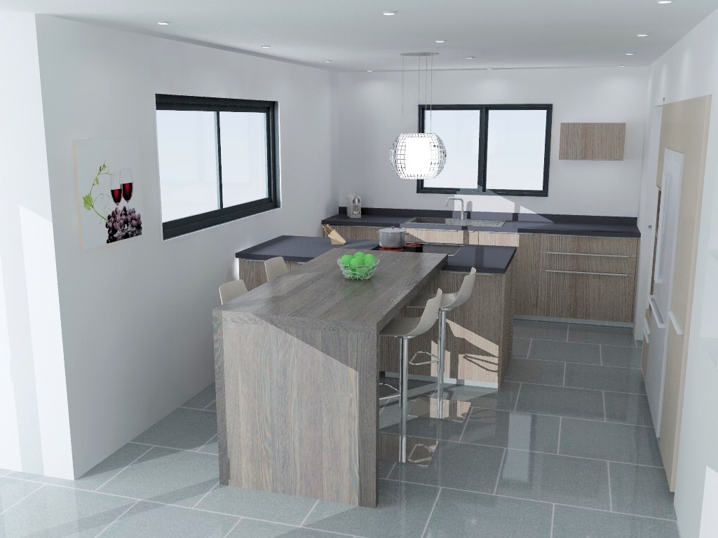 cuisine armony rennes p02 01. Black Bedroom Furniture Sets. Home Design Ideas