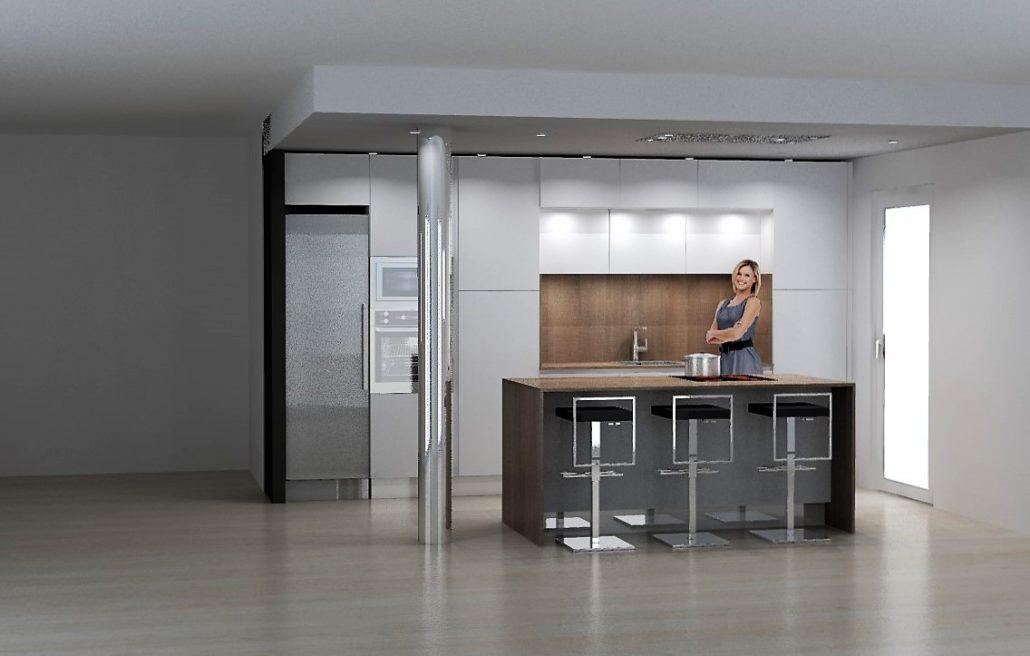 etude cuisine armony toulon en fenix blanc alaska tarif. Black Bedroom Furniture Sets. Home Design Ideas