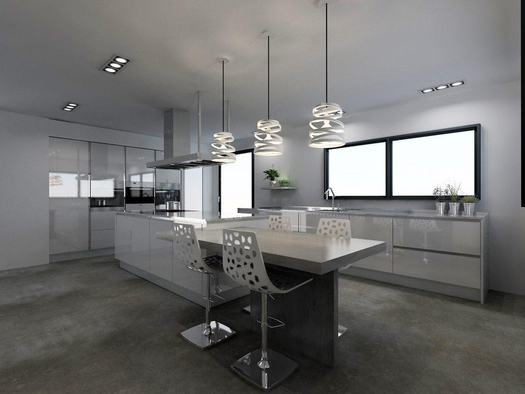 cuisine armony bordeaux dans une pi ce de 32m2. Black Bedroom Furniture Sets. Home Design Ideas