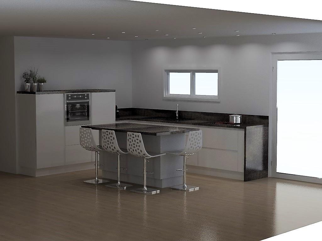 cuisine armony bernin. Black Bedroom Furniture Sets. Home Design Ideas