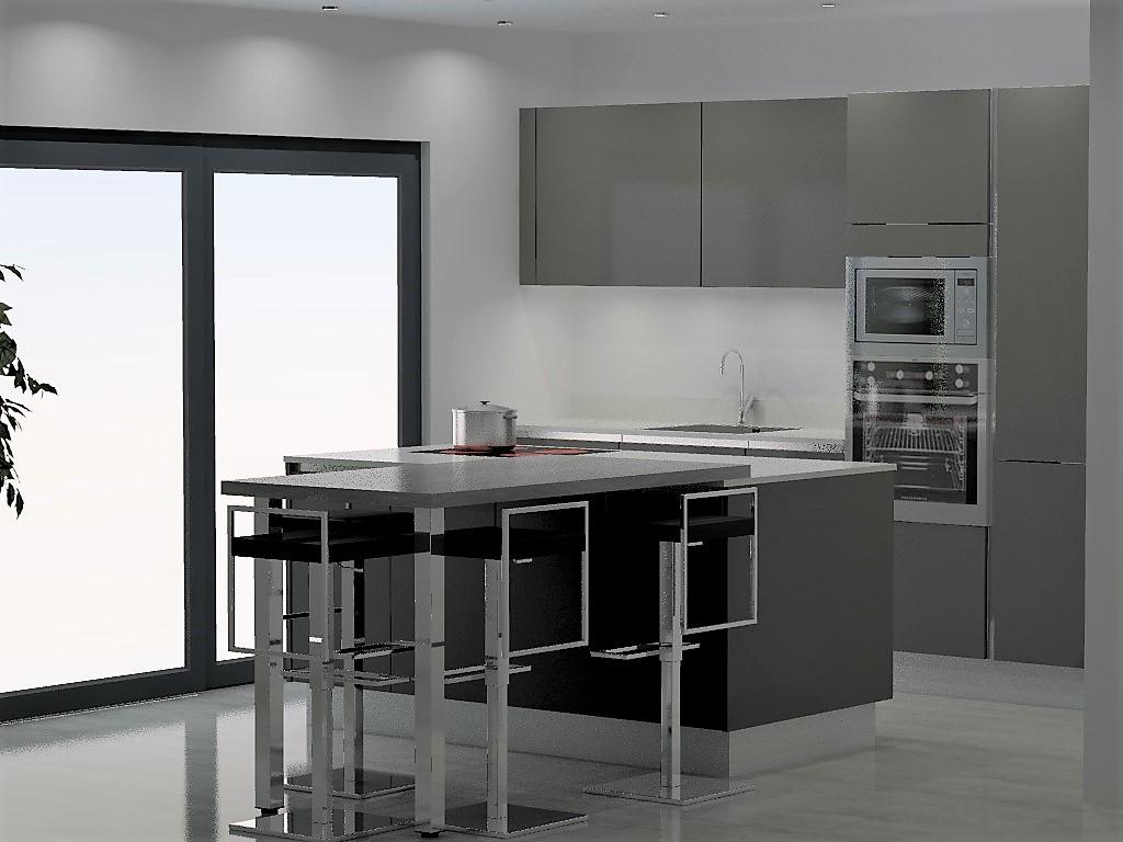 cuisine armony lyon s 01 12. Black Bedroom Furniture Sets. Home Design Ideas