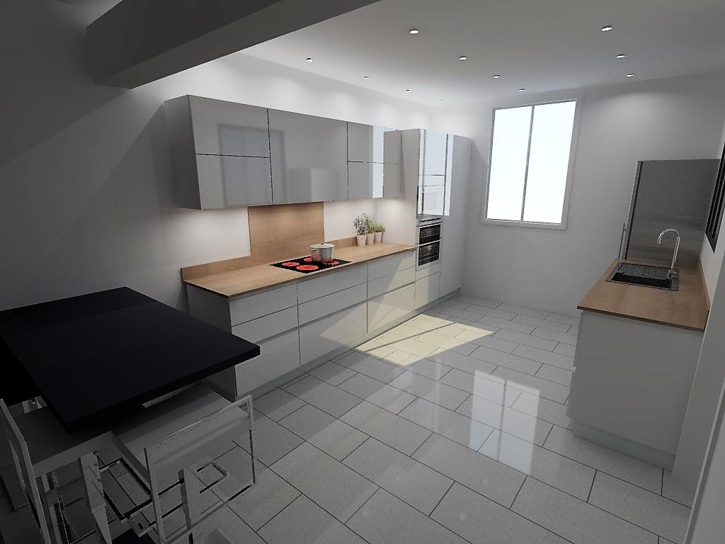 etude cuisine armony fontaine. Black Bedroom Furniture Sets. Home Design Ideas