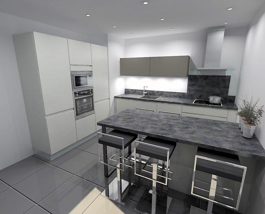 cuisine armony en fenix grange les valences. Black Bedroom Furniture Sets. Home Design Ideas