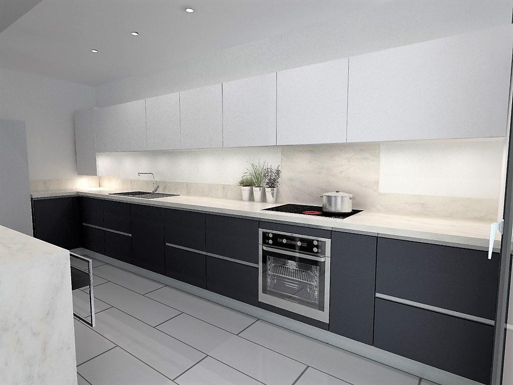 inspirant plan de travail imitation marbre blanc table. Black Bedroom Furniture Sets. Home Design Ideas