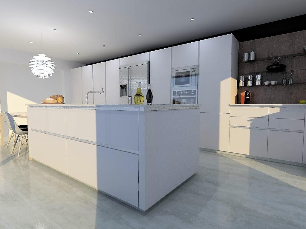 cuisine armony marseille le roucas blanc w01 07. Black Bedroom Furniture Sets. Home Design Ideas