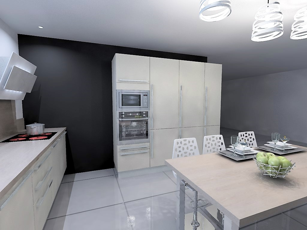 cuisine armony st restitut b01 16. Black Bedroom Furniture Sets. Home Design Ideas