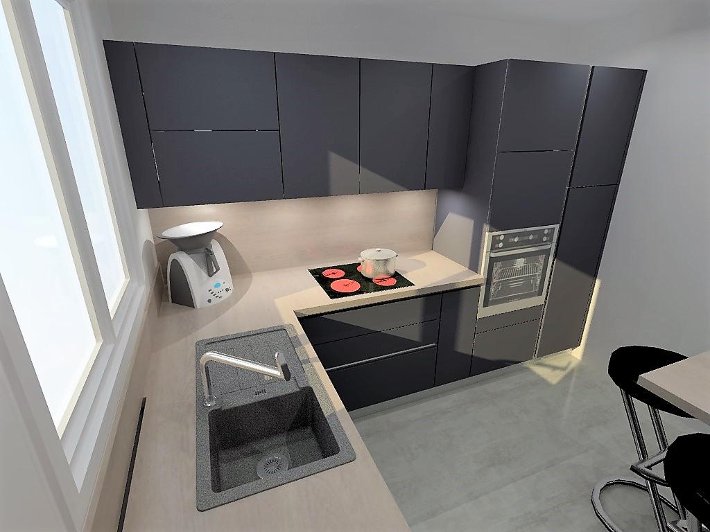 cuisine armony montigny le bretonneux. Black Bedroom Furniture Sets. Home Design Ideas