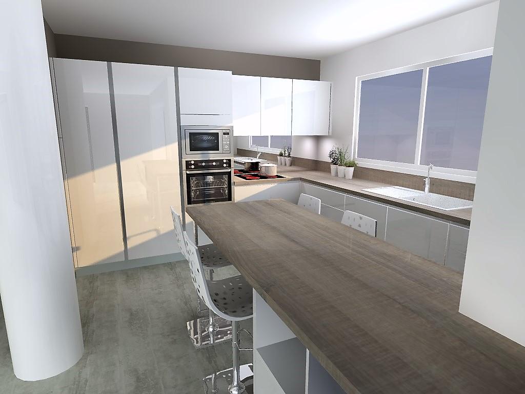 cuisine armony st jean de mercuze c01. Black Bedroom Furniture Sets. Home Design Ideas