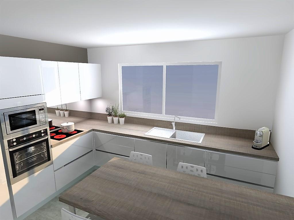 cuisine armony st jean de mercuze c02. Black Bedroom Furniture Sets. Home Design Ideas
