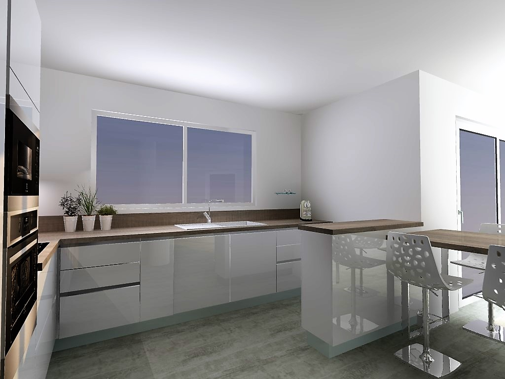 cuisine armony st jean de mercuze c11. Black Bedroom Furniture Sets. Home Design Ideas